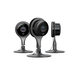 Nest Security Camera, Keep An Eye On What Matters to You, From Anywhere, For Indoor Use (3-Pack)
