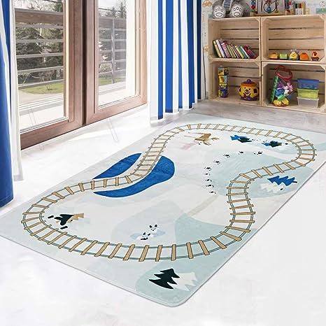 Kids Room Rugs Children Fun Mats Boys /& Girls Bedroom Playroom NonSlip Floor Mat