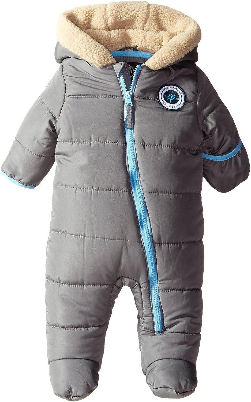 Weatherproof Baby Boys Plaid,Charcoal Sherpa Pram