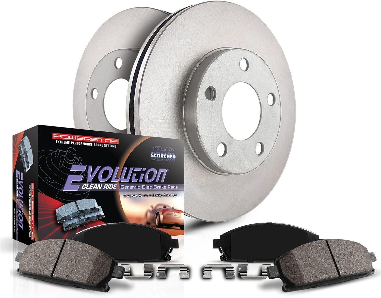 Power Stop KOE6140 Front Stock Replacement Brake Kit