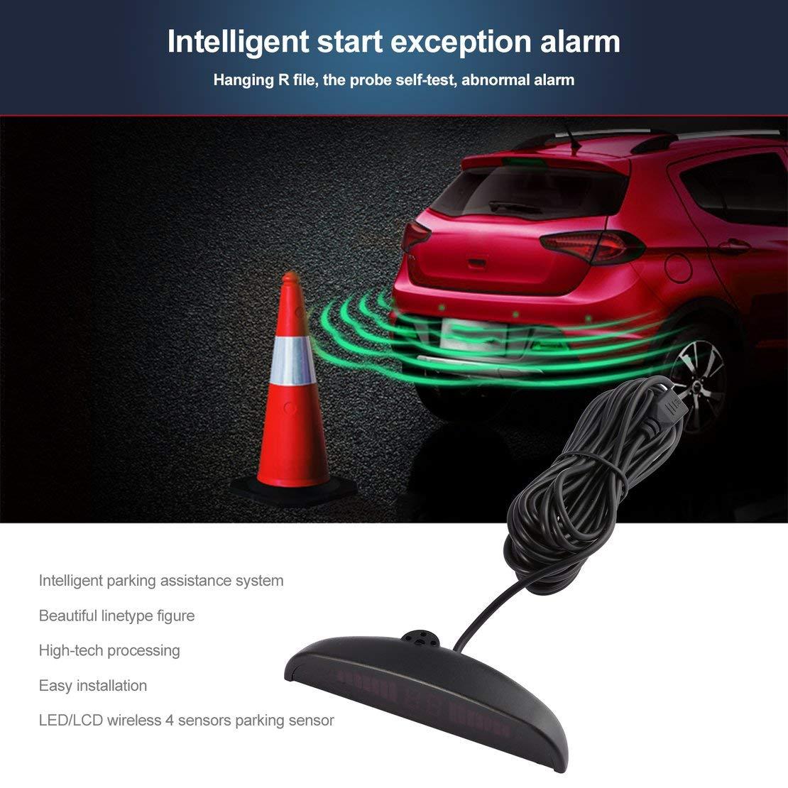 LED-Rückfahrradar-Fahrzeug-europäischer: Amazon.de: Elektronik
