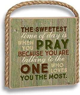 product image for Imagine Design Sweetest time Great Outdoors Plaque