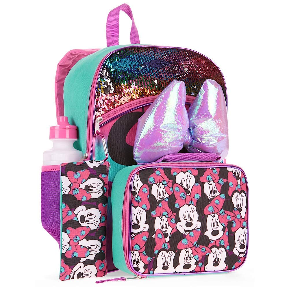 Minnie Mouse Backpack 5-Piece Set