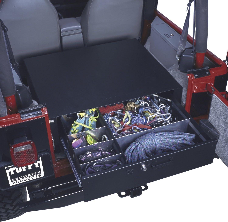 Black Tuffy Rear Cargo Drawer
