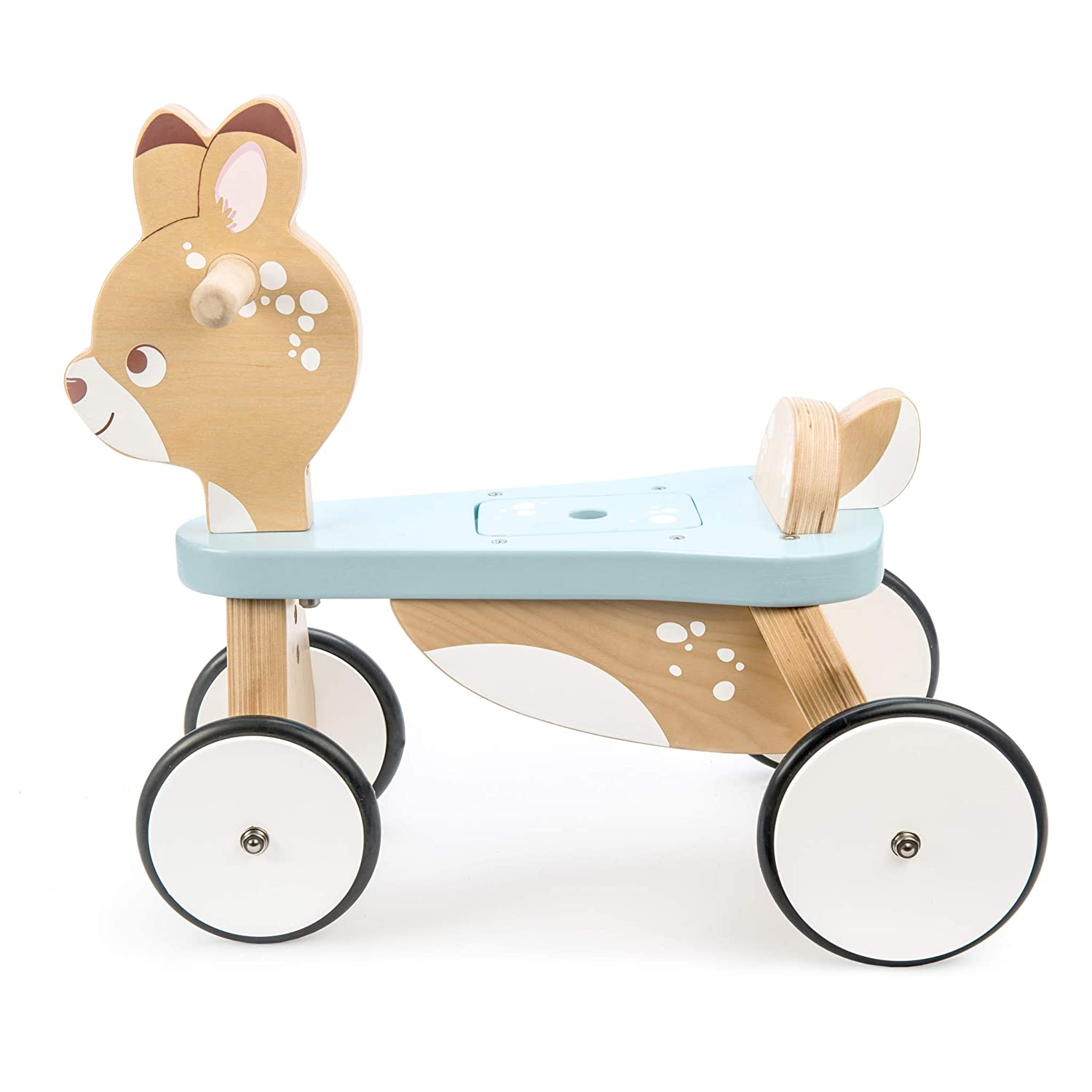 Le Toy Van Petilou Collection Wooden Ride on Deer Premium Wooden Toys for Kids Ages 2 Months /& Up