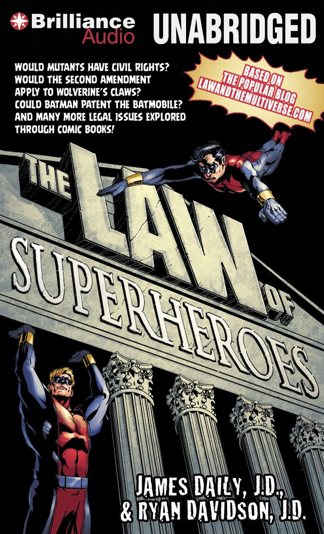 The Law of Superheroes PDF Text fb2 ebook