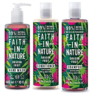 Faith In Nature Dragon fruit Revitalising Shampoo For All Hair Type 400ml