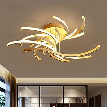Lámparas de techo material de aluminio postmoderno Lámpara ...
