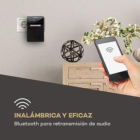 auna DigiPlug FM - Radio de Enchufe , Radio con RDS , Sintonizador ...