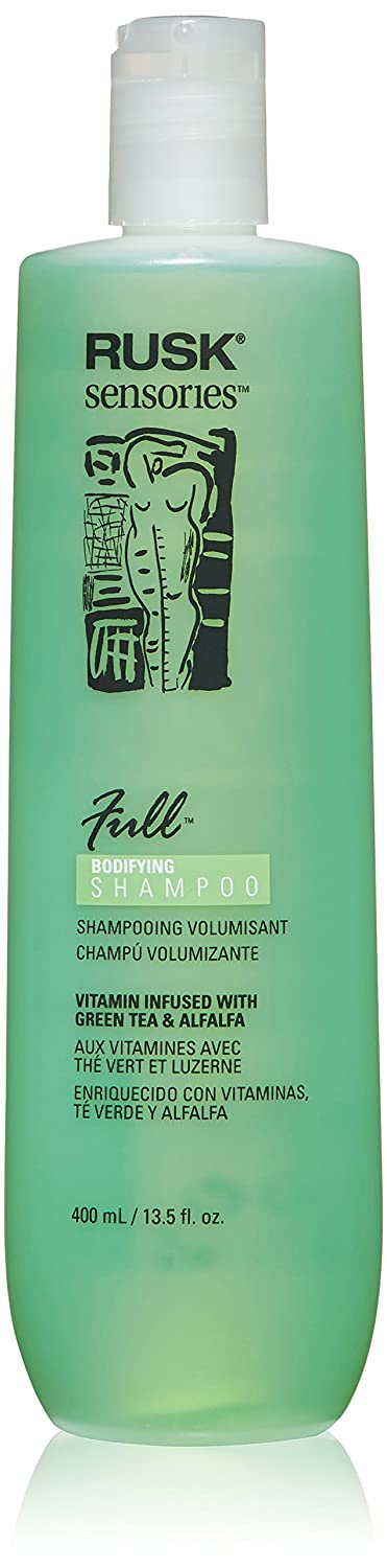 Amazon.com: RUSK Sensories Full Green Tea and Alfalfa Bodifying Shampoo, 13.5 fl. oz.: Luxury Beauty
