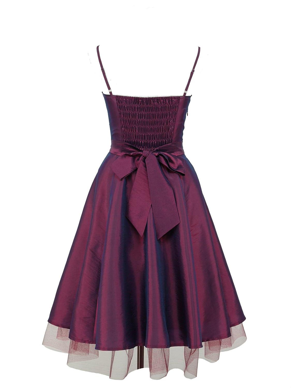 dress190 Flock diseño de flores 50s 60s Rockabilly Vintage Prom ...