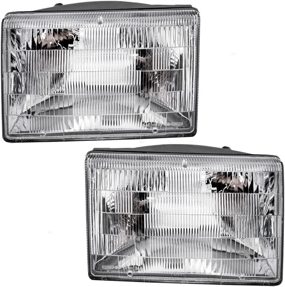 1993 Jeep CHEROKEE Post mount spotlight 6 inch LED -Chrome Driver side WITH install kit