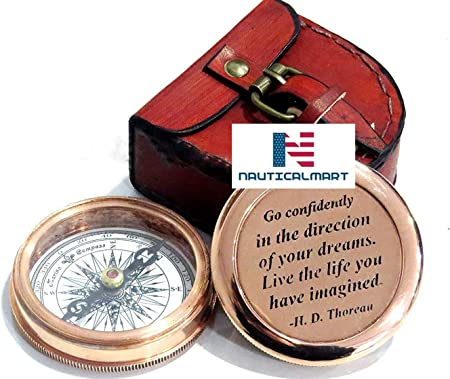 Best Easter Graduation Gifts Religious Gifts for Men Baptism Gifts Birthday Gifts Nautical-Mart Engraved Compass for Confirmation Gifts Wedding Gifts