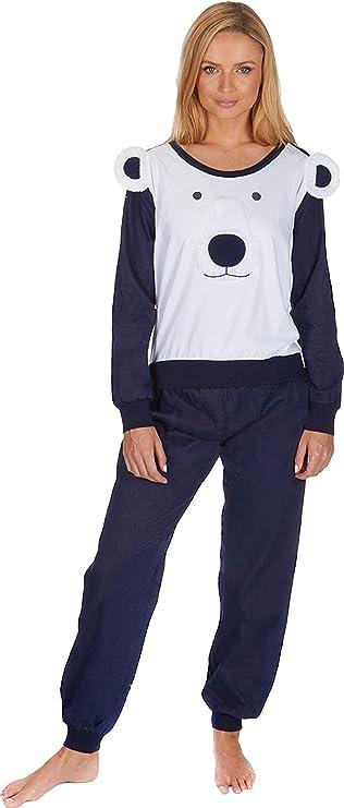 TALLA S. Insignia Mujer Pijama de Algodón