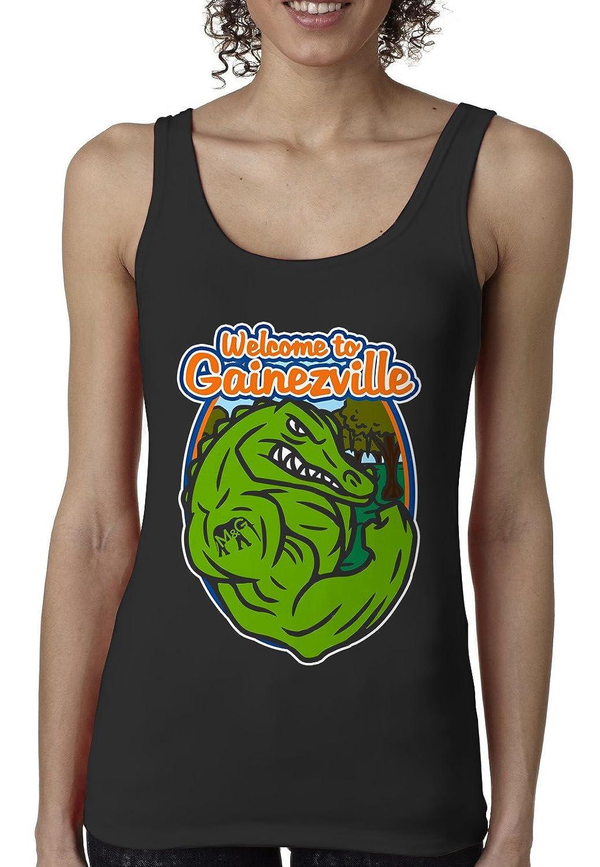 Bro Science Women's Welcome to Gainezville Tank-top