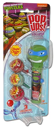 Nickelodeon Teenage Mutant Ninja Turtles Pop Ups Chupa Chups ...