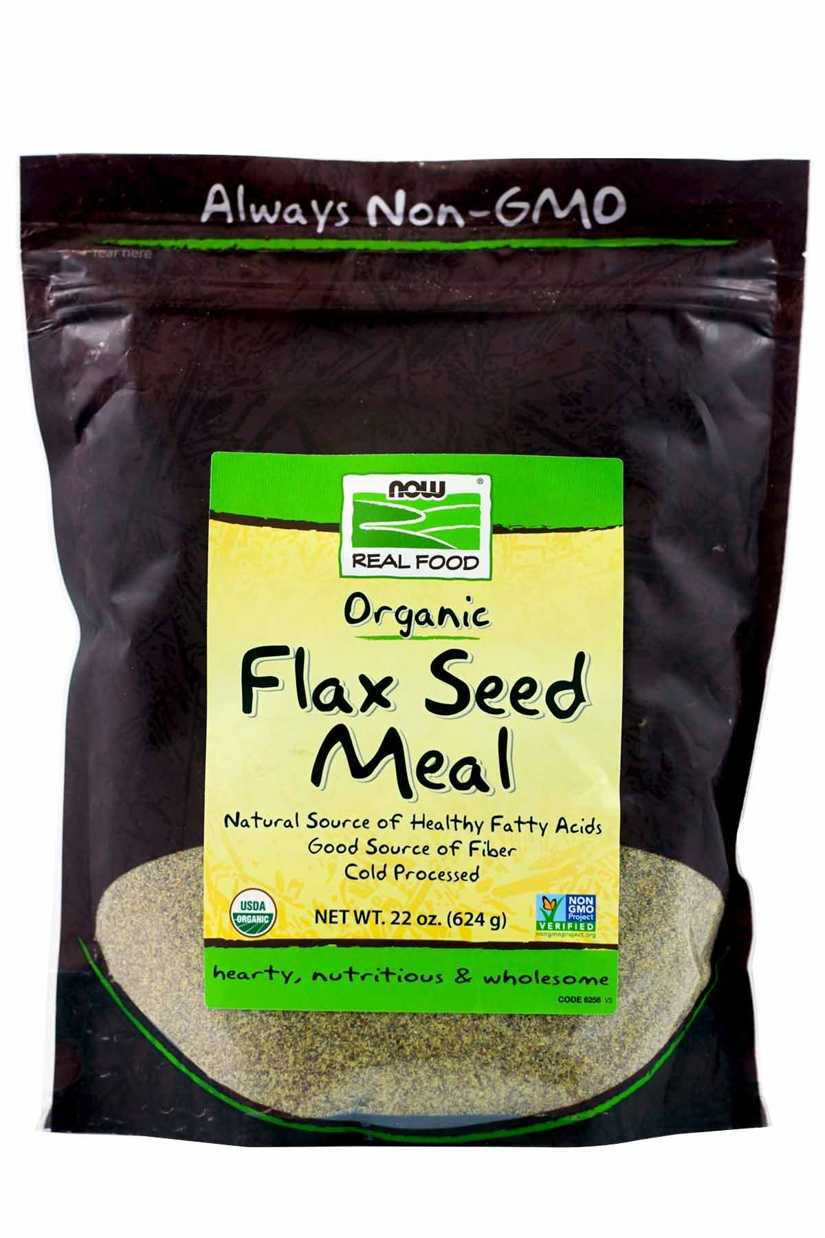 Now Foods Flax Seed Organic Meal (22 OZ - Pack of 2)