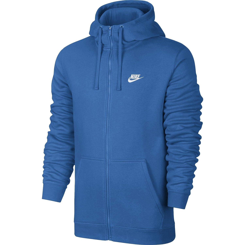 Nike M Nsw Club Hoodie FZ BB Sweatshirt, Herren, Mehrfarbig