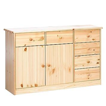 Steens Mario 2 para puerta/6-cajones mueble aparador con madera de ...