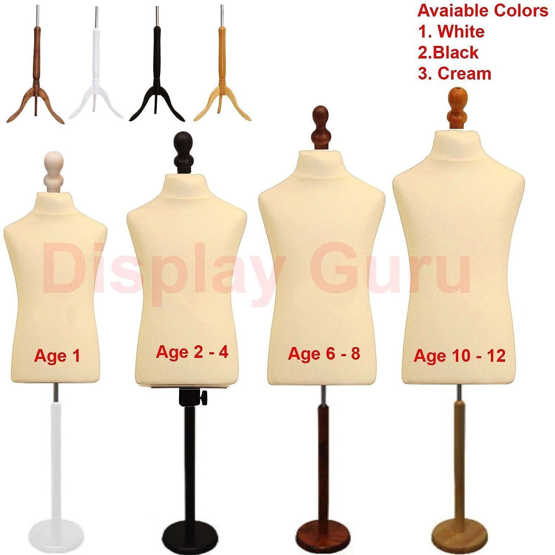Child Kid Tailors Dummy Dummies Dressmakers Fashion Students Mannequin Bust