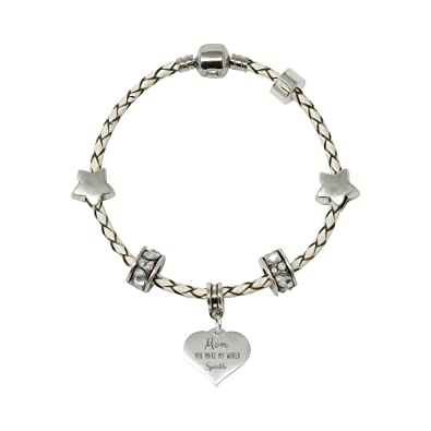 Sister Heart Charm For European Style Charm Bracelets With Truly Charming Sparkle Collection Presentation Gift Box kP8LjfHMe