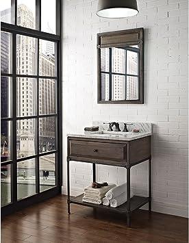 30 Open Shelf Vanity Bathroom Vanities Amazon Com