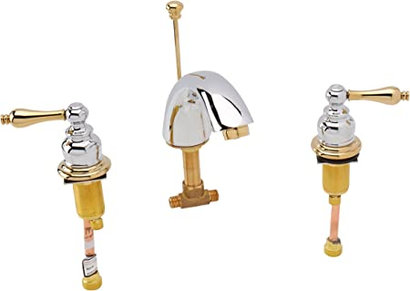 Kingston Brass Kb974al Victorian Widespread Lavatory Faucet With