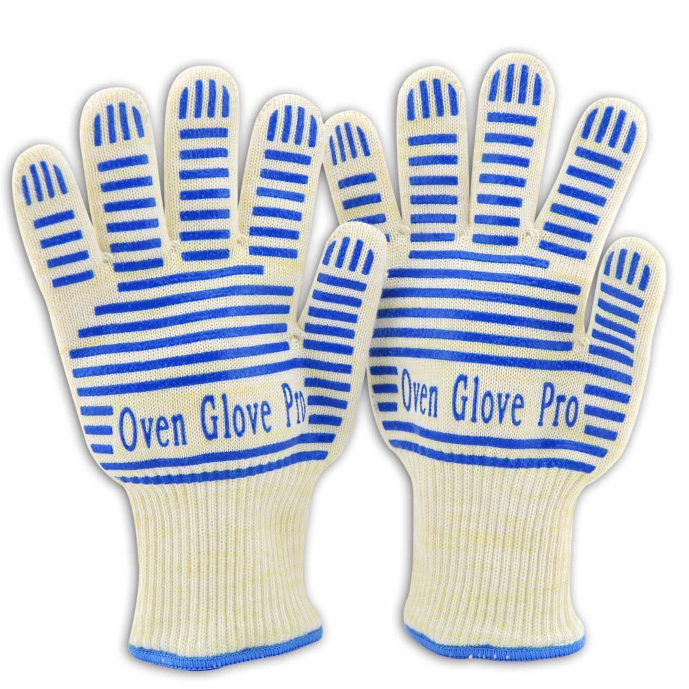 Zotoon Oven Gloves, Heat Resistant Mitts For Bbq Outdoor Cooking Grilling Pot Holder