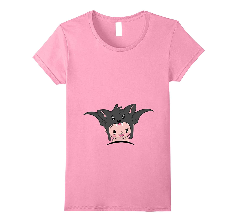 Womens Maternity Halloween Baby Costume Shirts-T-Shirt