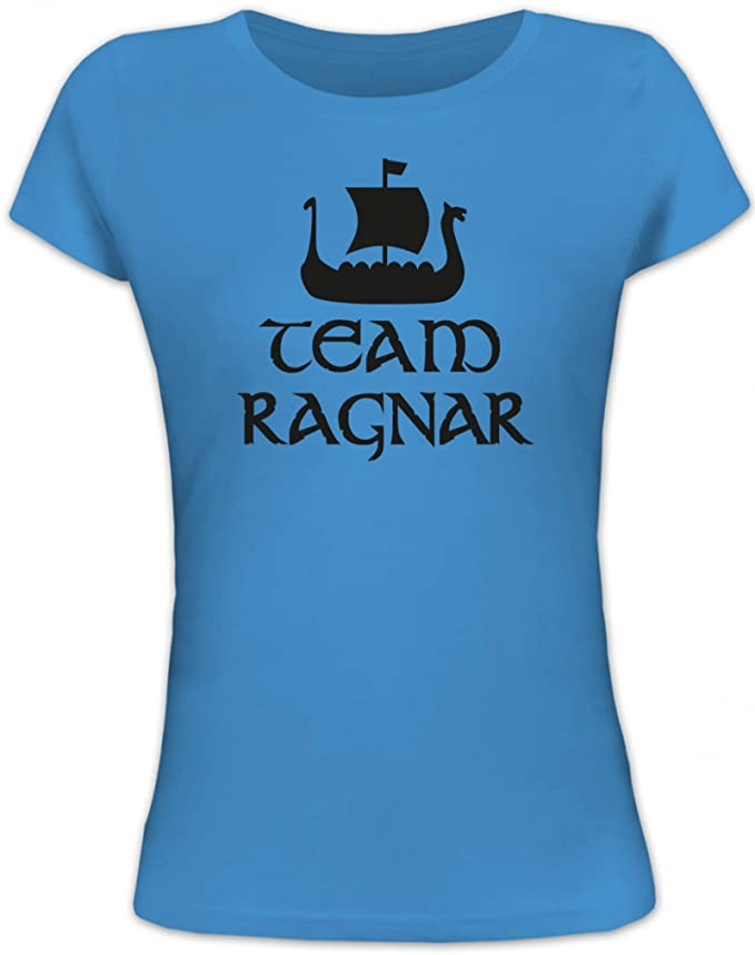 TEAM RAGNAR Vikings Lady// Damen// Frauen Fun T-Shirt Shirtstreet24