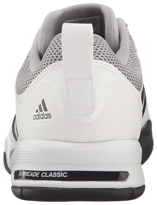 on sale 386a5 8937e Amazon.com   adidas Barricade Classic Wide 4E Tennis Shoe   Tennis    Racquet Sports