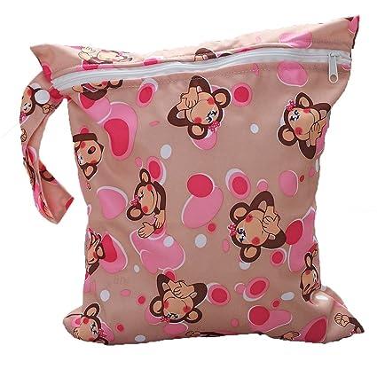 Bolsa de panales - SODIAL(R)bolsa reutilizable de panales de tela de patron