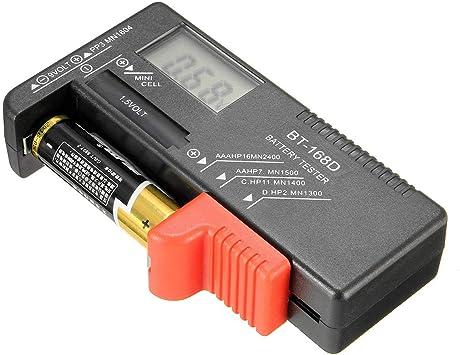Universal Aa Aaa C D 9v 1 5v Lcd Display Batterietester Knopfzelle Volt Prüfer Cod Baumarkt