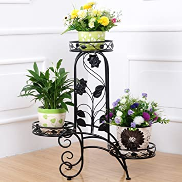 Iron Art Floor Blume Multi Layer European Flowerpotterrakotta Frame