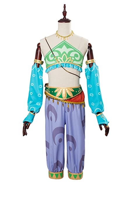 The Legend Of Zelda Breath Of The Wild Link Outfit Cosplay Kostum Damen Xs