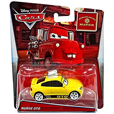 Disney/Pixar Cars Mater's Tall Tales Nurse GTO (Rescue Squad Mater) Die-Cast Vehicle: Toys & Games