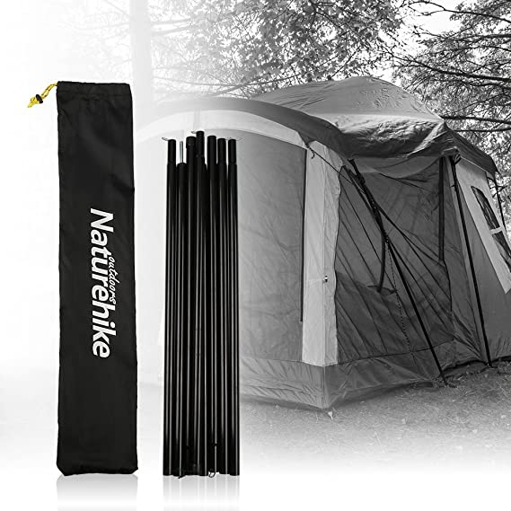 Outdoor Camping Sunshelter Support Rods Canopy Zinc Plated Iron Awning Frames Kit Tent Pole Bars Tbest Tent Pole Rods Tarp Poles Replacement Kit