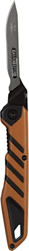 Allen Company Gamekeepers Switchback Replaceable Blade Knife – Orange Black, Metal, One Size
