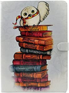 YHB Case for iPad Mini 2/3, Women Girl Gifts Kids Magical Cute Owl Pattern Leather Flip Stand Case Cover for iPad Mini 2th ,3th (2012-2014 Release)