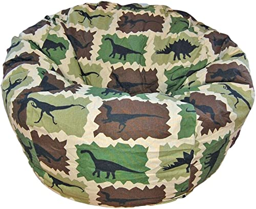 Ahh Products Dinosaurs Camouflage Kid Bean Bag Chair