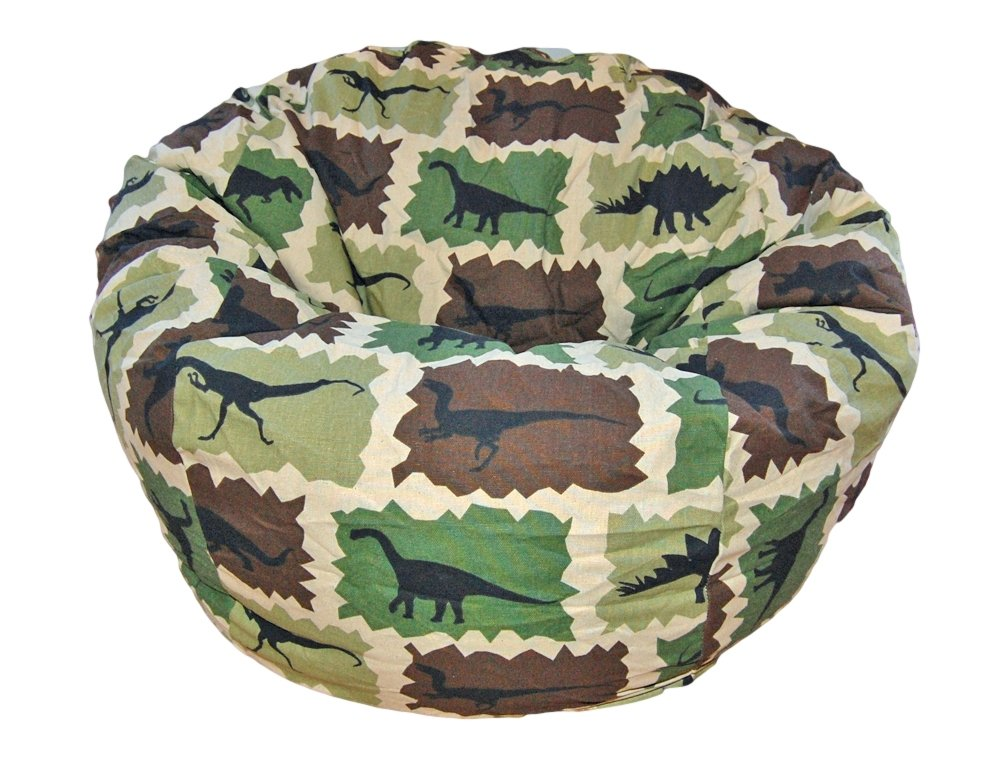 Amazon.com: Ahh! Products Dinosaurs Camouflage Kid Bean Bag Chair: Toys U0026  Games