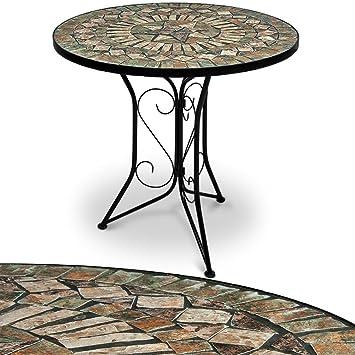 Amazon De Mosaiktisch Gartentisch Balkontisch Bistrotisch