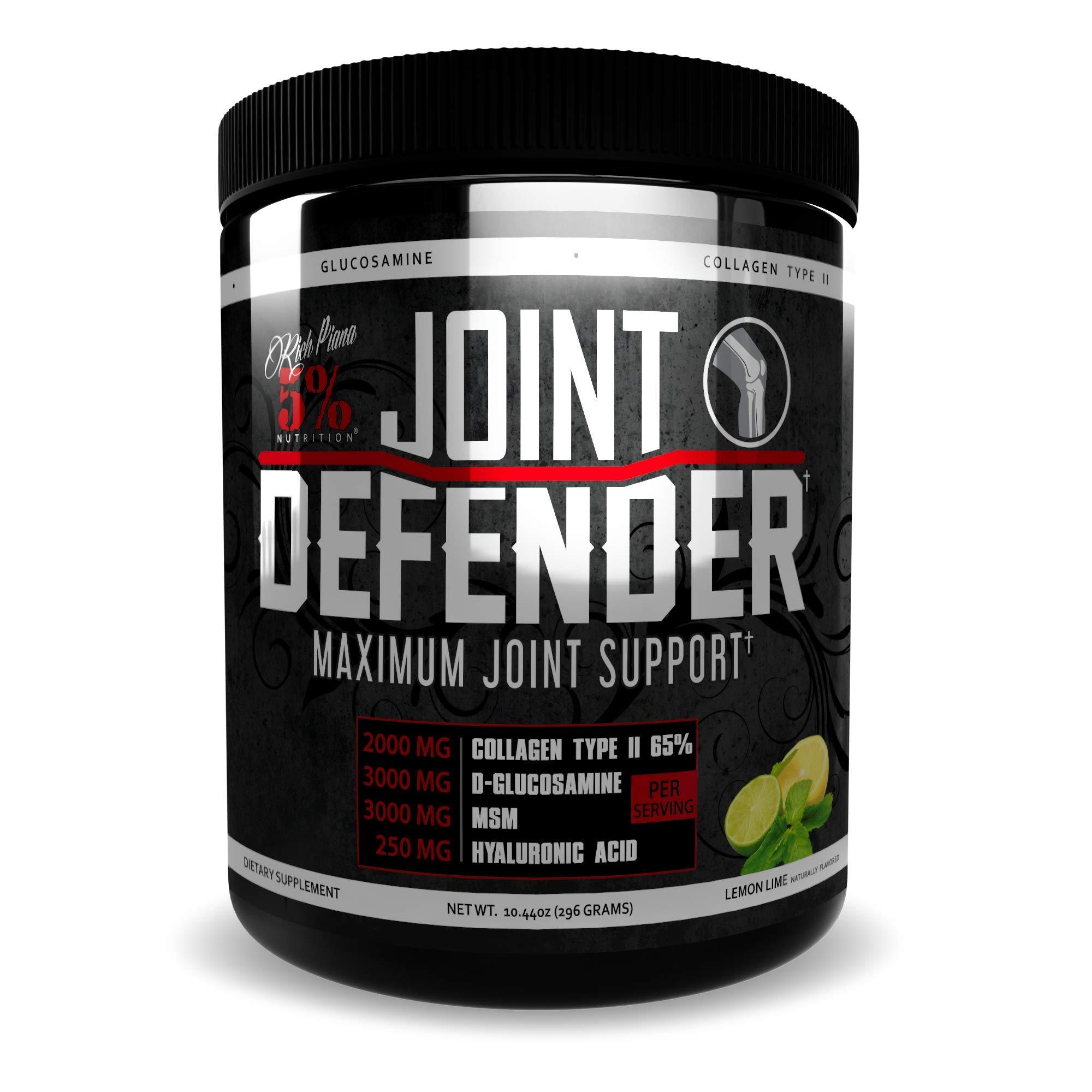 Rich Piana 5% Nutrition Joint Defender Maximum Joint Support (Lemon Lime)
