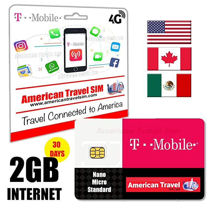 T-Mobile - paid-sim tarjeta - 2 GB datos, Unlimited llamadas ...
