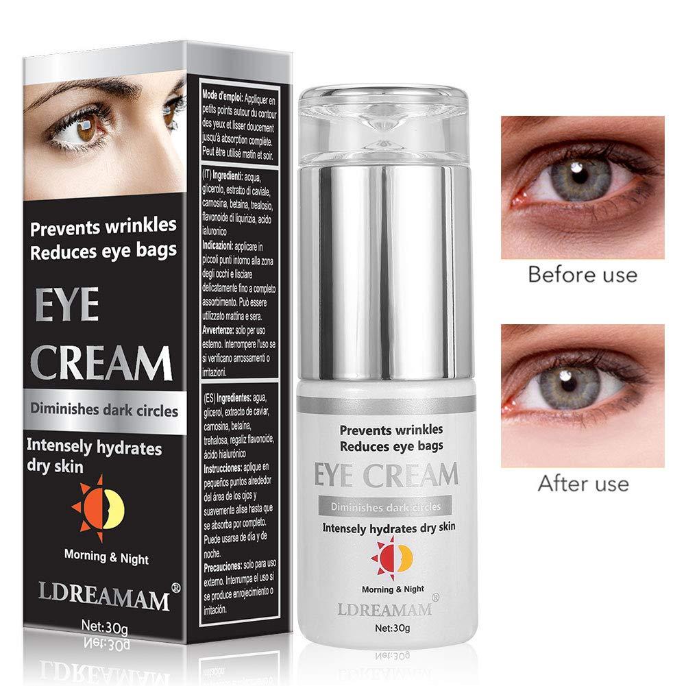 Crema de Ojos,Crema para los Ojos,Contorno de Ojos Anti Edad ...