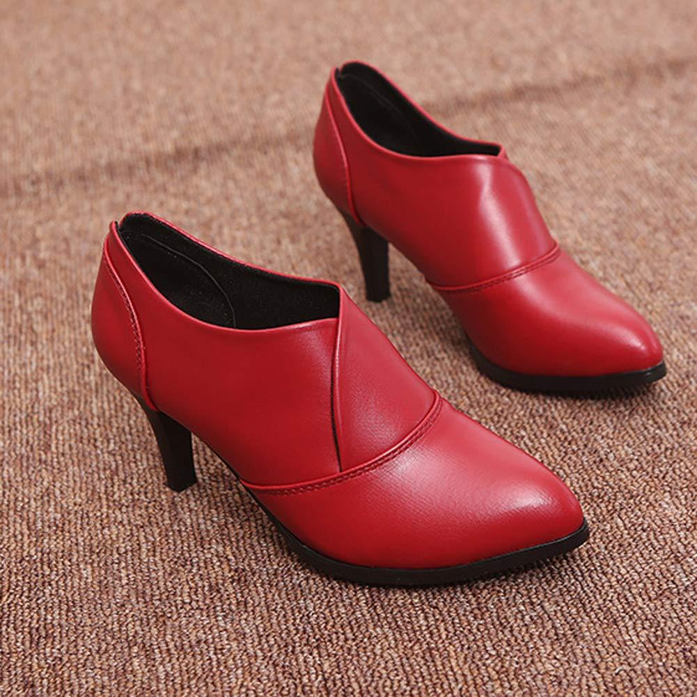Frauen Stiefel Dünne Fersen Herbst Winter Spitz Baumwolle Baumwolle Baumwolle Stoff Slip-on Komfortable Schuhe Ankle Stiefelies 663169