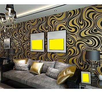 Tapete Tapeten Vlies Beflockung Wohnzimmer Sofa TV Hintergrund Wand ...