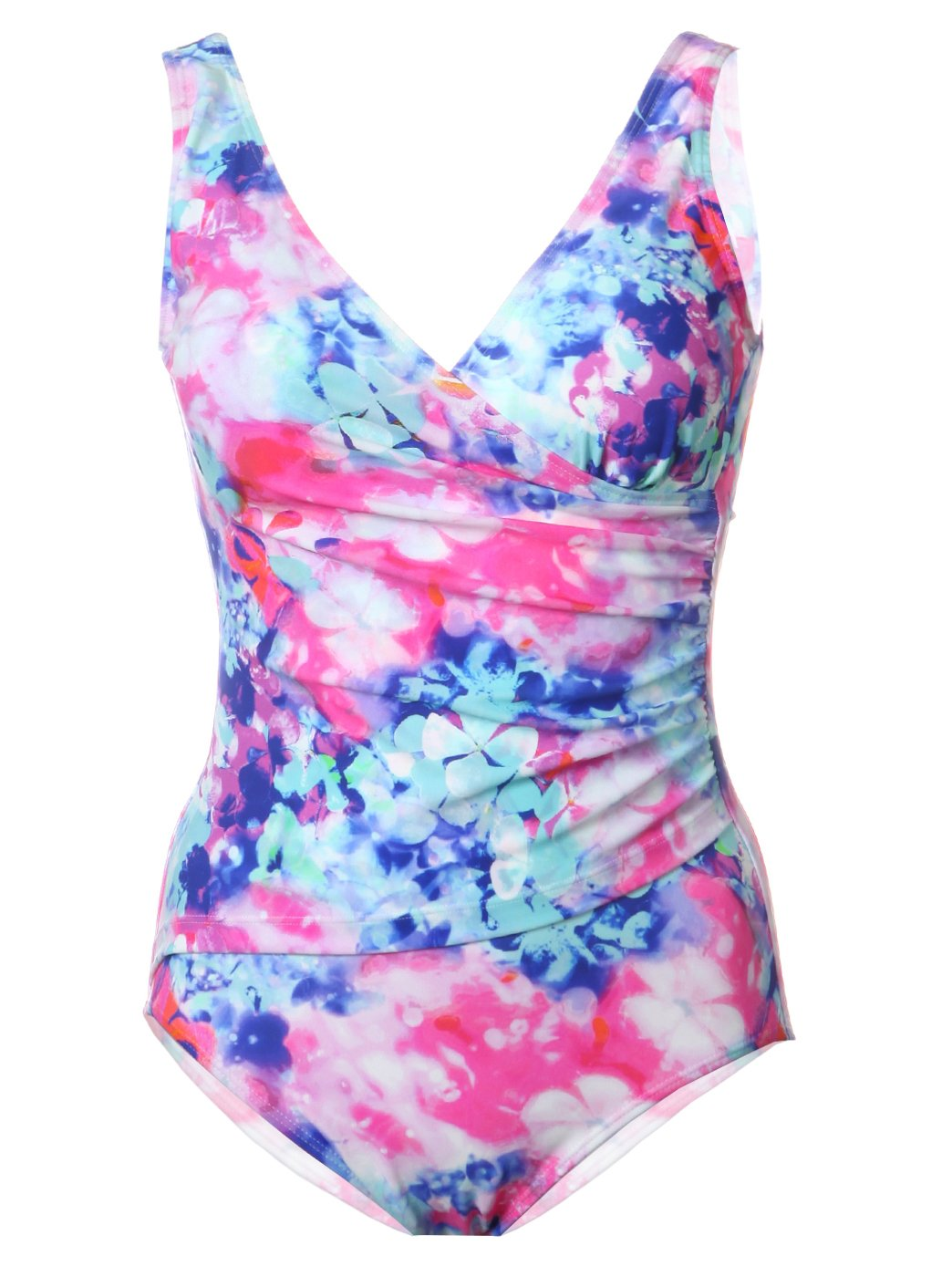 Aimer Women's Clover Pattern One-Piece Swimsuit XS Multicoloured