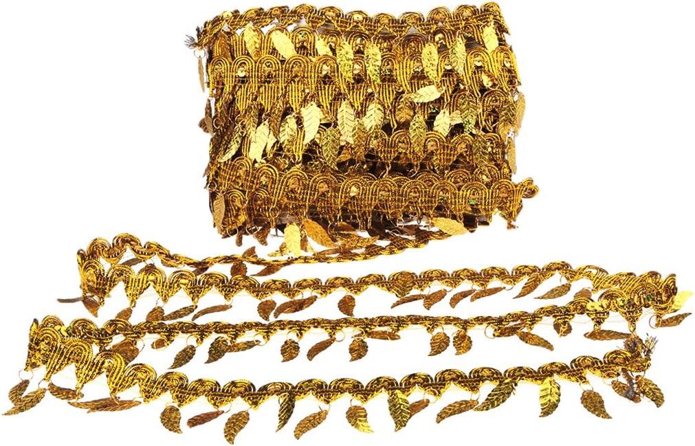 Yalulu 10 Meter Beige Baumwolle Quaste Stoff Fransen Zierband DIY Handwerk Kleid Besatz Dekor