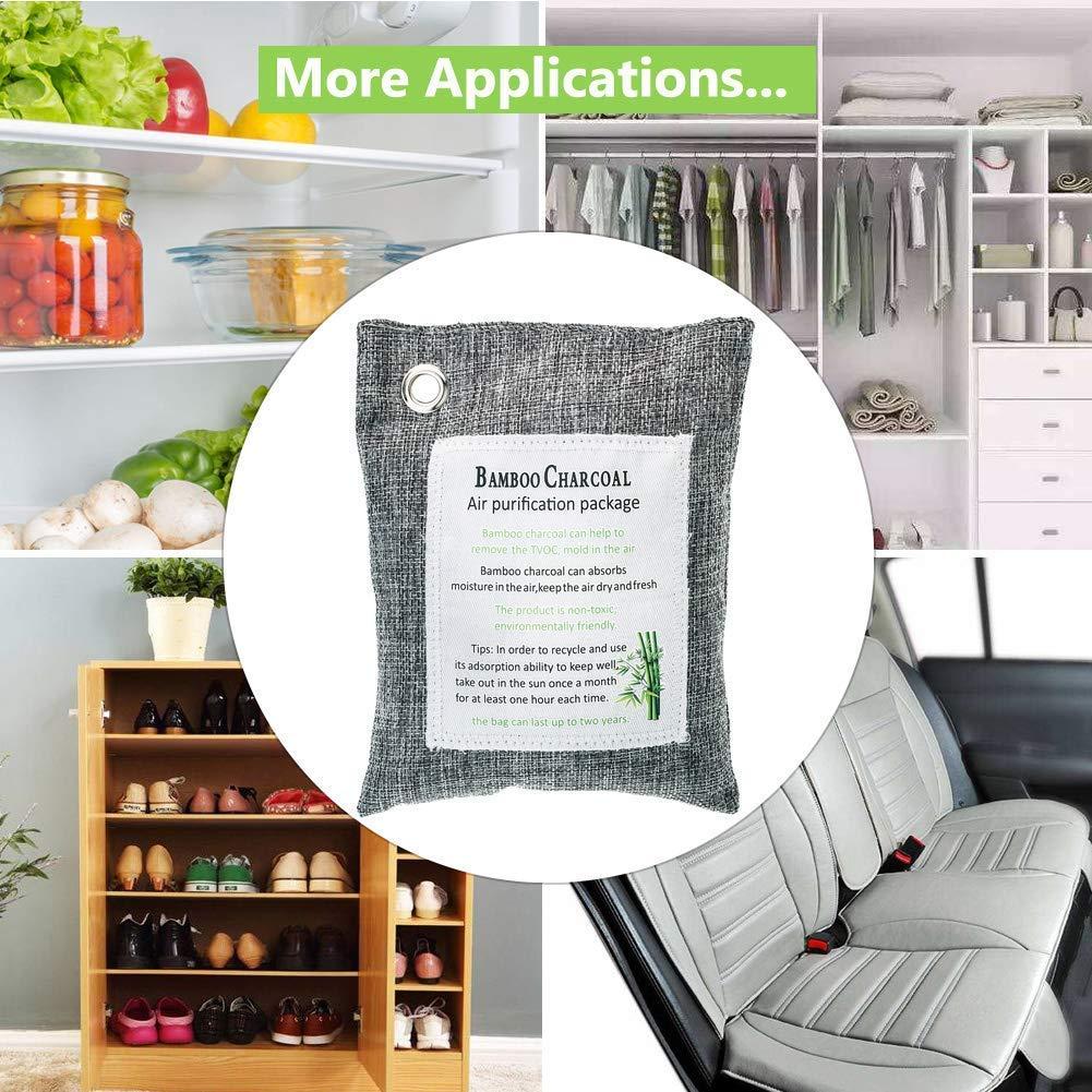 Heariao Natural Activated Bamboo Carbon Air Purifying Bag